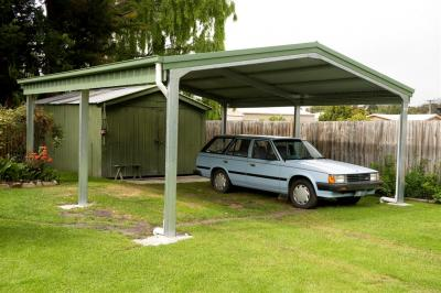 View Photo: 6.0m x 6.0m x 2.4m gable carport