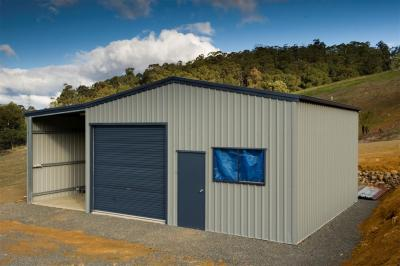 View Photo: 7.0m x 7.0m x 3.5m shed with 3.0m leanto