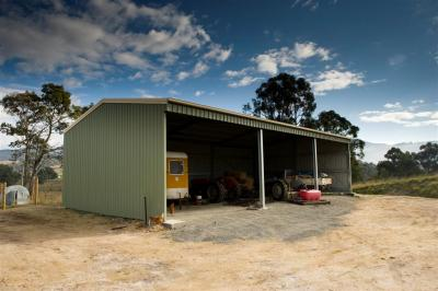 View Photo: 8.0m x 15.0m x 3.6m farm shed