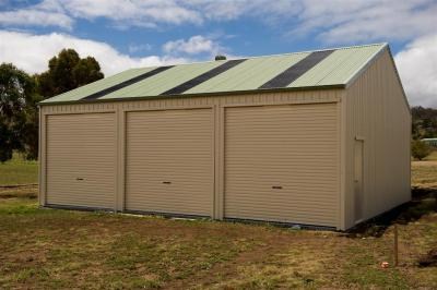 View Photo: 9.0m x 10.0m x 3.3m shed