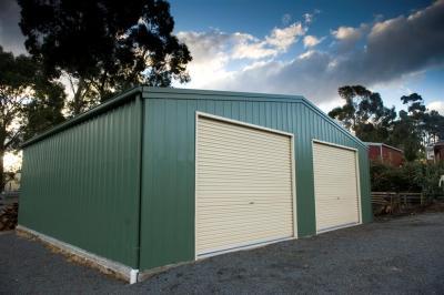 View Photo: 9.0m x 8.0m x 2.6m shed
