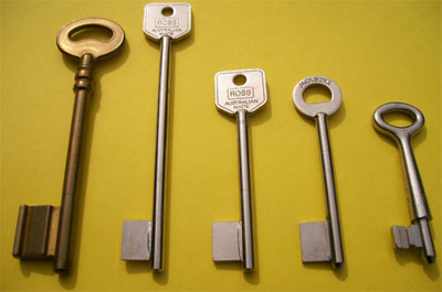 View Photo: Safe Mortice Keys