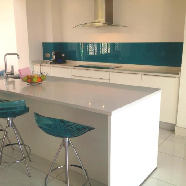 View Photo: Kitchen Splashback in Reef Metallic