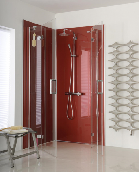 View Photo: Shower Recess in Monaco Metallic