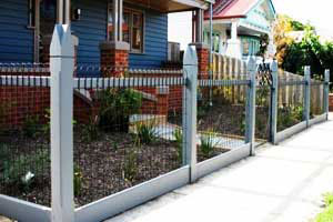 View Photo: Ornate Capped Picket Fencing
