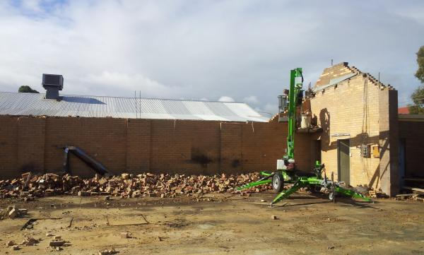 View Photo: Factory Demolition