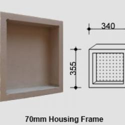 View Photo: Single Compartment Square Niche for Queensland Homes