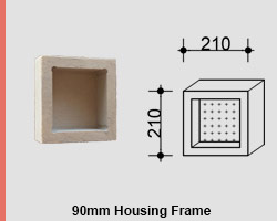 View Photo: Small Single Compartment Square Niche for NSW & VIC Homes