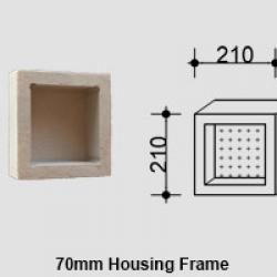 View Photo: Small Single Compartment Square Niche for Queensland Homes