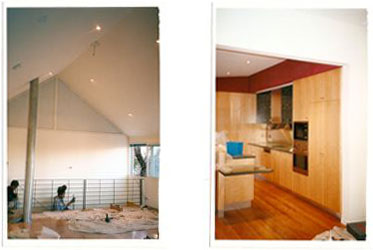 View Photo: Upstairs Bedroom & Kitchen in Progress