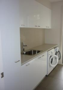 Laundry Storage Solutions Photo Romandini Cabinets Melbourne VIC