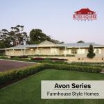 Farmhouse Style Homes - The Avon Series