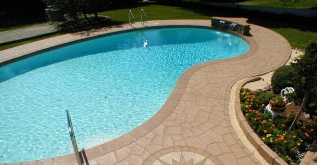 View Photo: Resurfacing Concrete Pool Deck