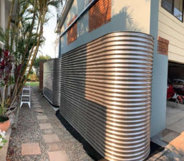 10000 Litre Slimline Water Tank