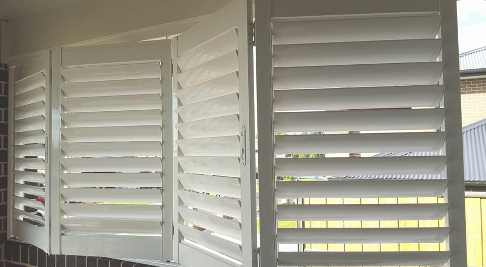 View Photo: Outdoor Aluminium Shutters - Bi Fold