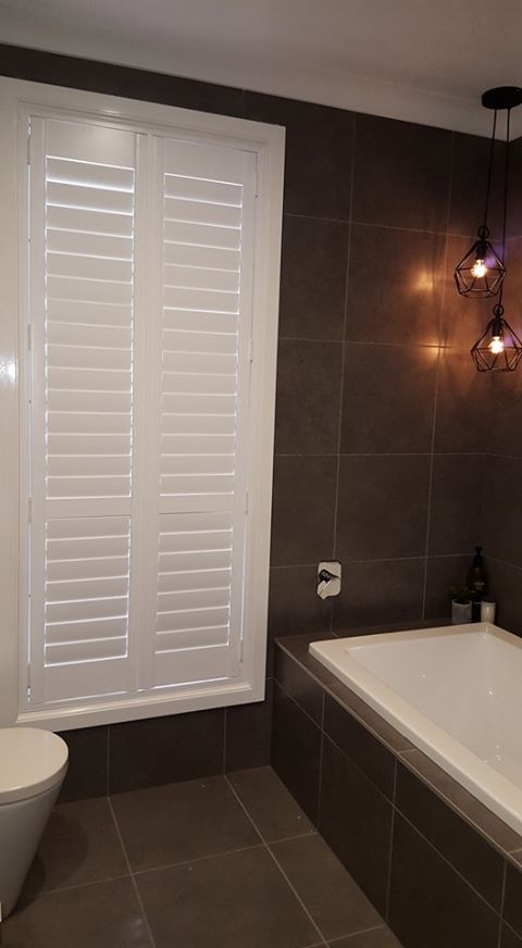 View Photo: PVC Shutters in a Bathroom