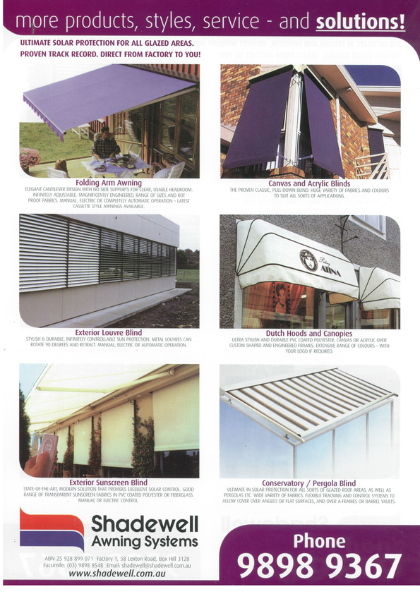 Browse Brochure: More products, styles, service and solutions!