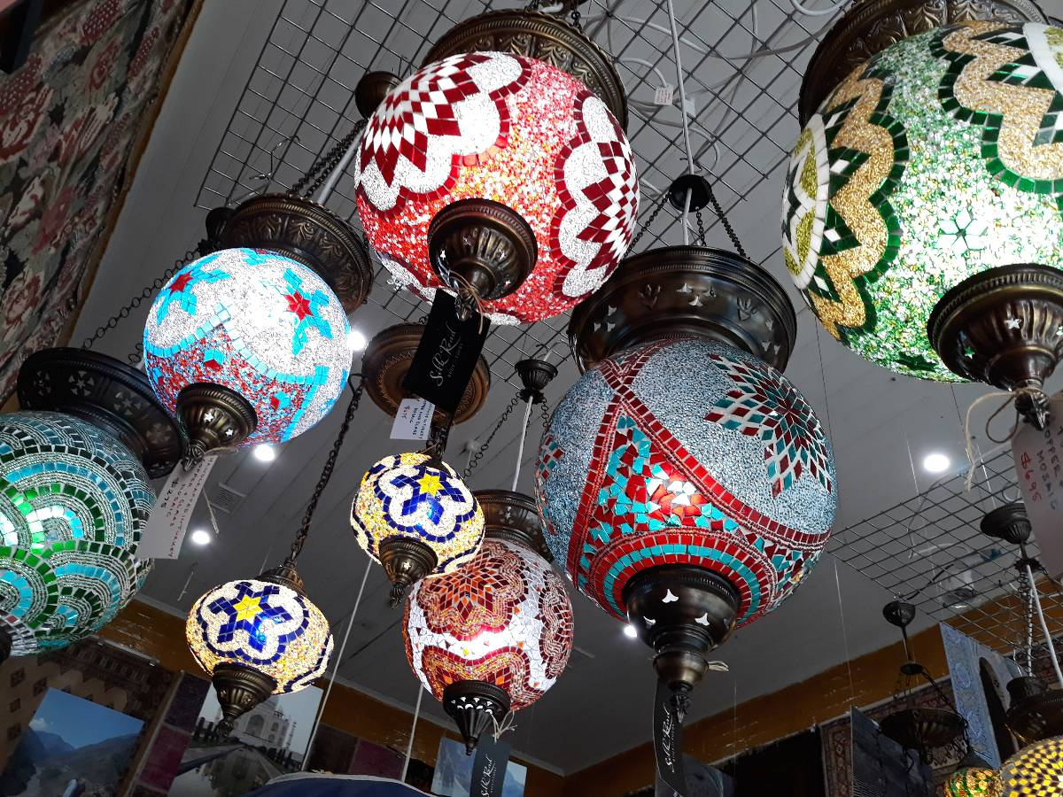 View Photo: Mosaic Lamps from Turkey