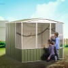 ABSCO Aviary Gable Roof - Easy to Assemble and Maintain