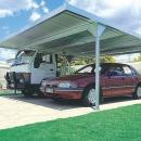 View Photo: ABSCO Carport 5.5m X 5.5m W50 Zincalume - No Frills, All Steel, Simply Strong