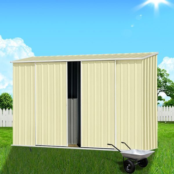 View Photo: ABSCO Ezislider Garden Shed - Compact, Easy-Access Shed for Small Space