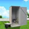 ABSCO Ezislim Garden Shed - The Smartest Storage Solution for the Smallest Space