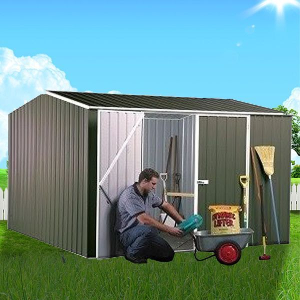 ABSCO Premier Gable Shed 3m x 2.26m - Quick-Install, Durable and Spacious