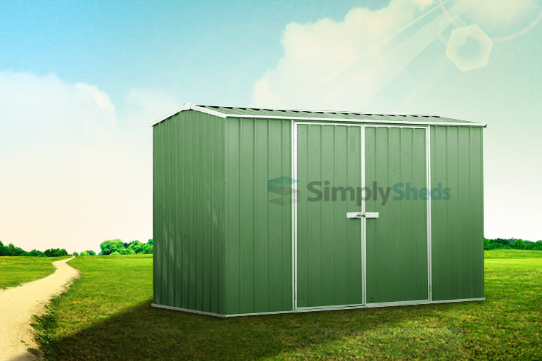 ABSCO Premier Gable Shed - Durable & Easy to Assemble