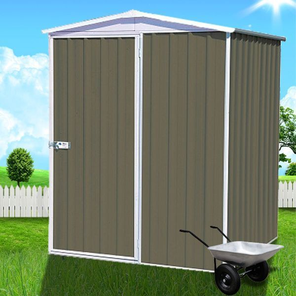 ABSCO Regent 1.52m X 1.44m - Compact Shed with Gable Roof Accent