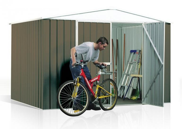 View Photo: ABSCO Regent 3m x 2.18m - Functional Gable Shed with Roof Accent