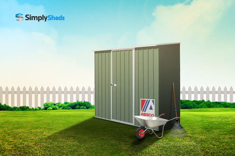 View Photo: ABSCO Spacesaver Garden Shed - Fits Easily and Elegantly in Limited Space
