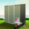 ABSCO Spacesaver Garden Shed - Fits Easily and Elegantly in Limited Space