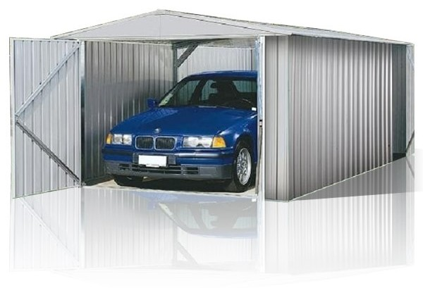 ABSCO Utility Shed - Spacious Storage with Extra-Large Door Opening