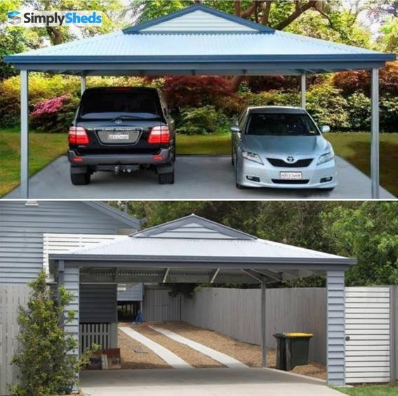 View Photo: AllCover Dutch Gable Carport - Pretty Tough Protection for Vehicles
