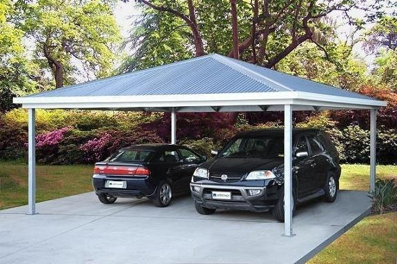 View Photo: AllCover Hip Roof Carport - Tough, Classy Shelter for Your Vehicles