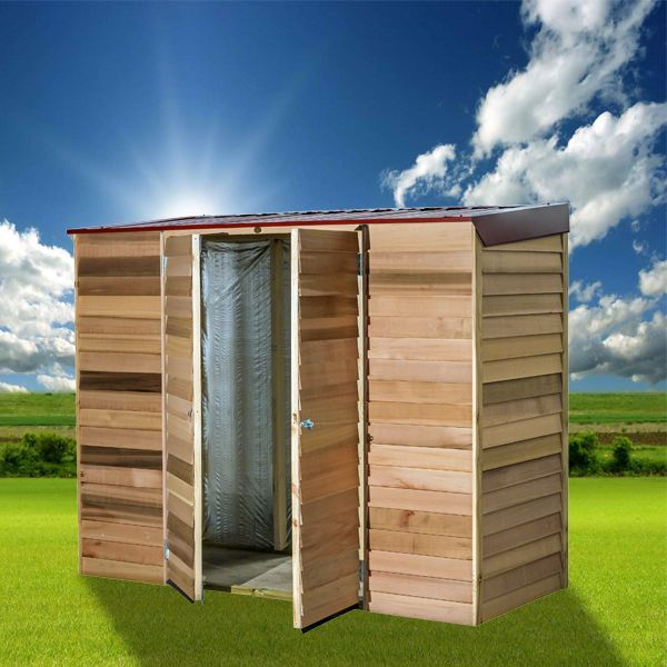 View Photo: Cedar Shed Belgrave - Compact, Multi-Functional Timber Shed
