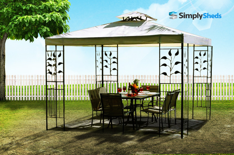 Cedar Shed Chadstone Gazebo - For Backyard Entertaining or Retreat