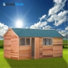 Cedar Shed Fernglen - Perfect for Work or Play