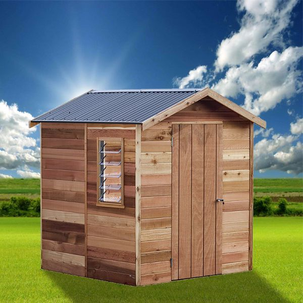 View Photo: Cedar Shed Highton Interlock - Stylish Storage in Durable Timber