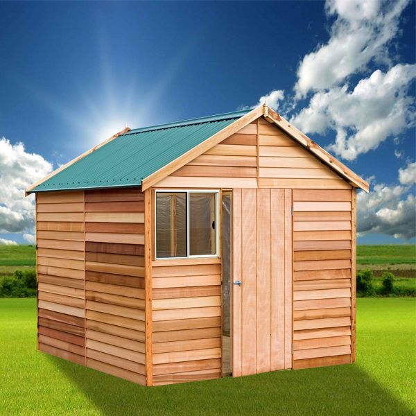 Cedar Shed Kallista - Attractive, Functional Shed with Ample Headroom