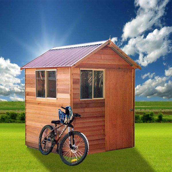 View Photo: Cedar Shed Silvan - Compact, Versatile Timber Shed