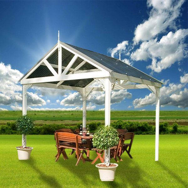 View Photo: Cedar Shed Strathmore Gazebo - Add Elegance to Your Garden