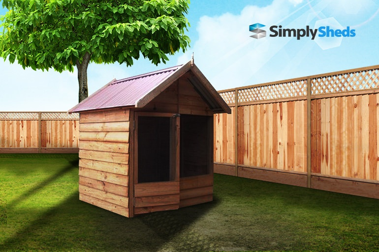 View Photo: Cedar Shed The Chook Shed - Pretty Pine Shelter for Fowls