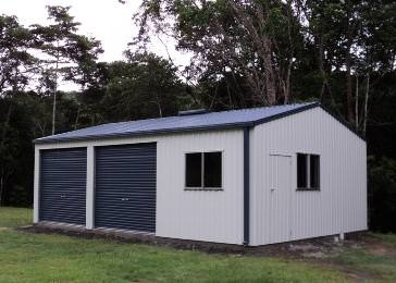 View Photo: Spanbilt Smartbild Double Garage - With Workshop