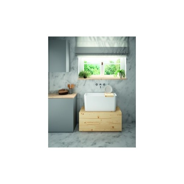 View Photo: Tribo 60 x 42 Fine Fireclay Sink
