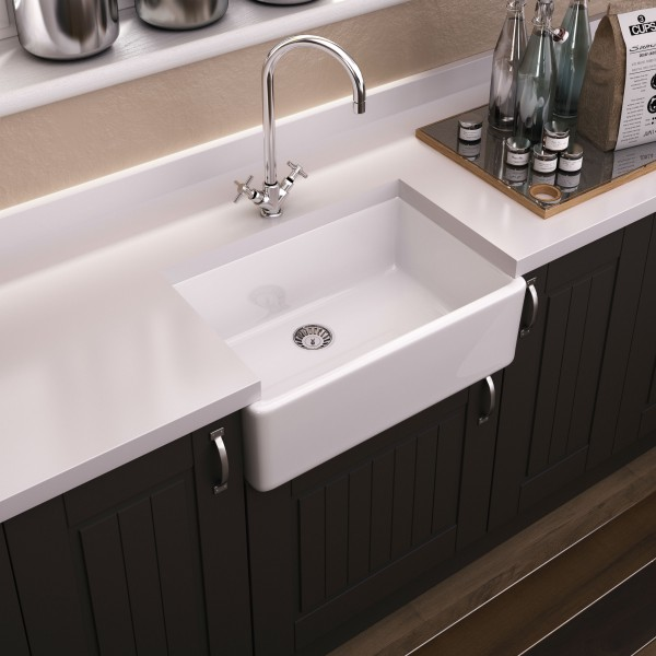 View Photo: Westminster 60 Single Bowl Butler Sink