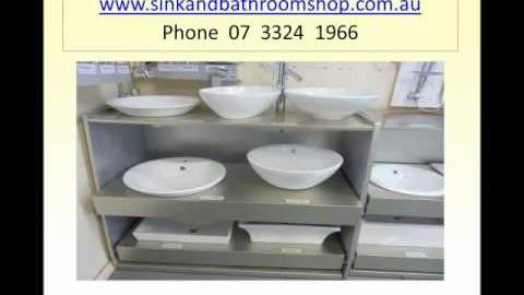 Watch Video: Sink and Bathroom Shop - Largest Display Range