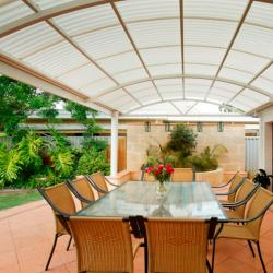 View Photo: Using either Nexteel or Polycarbonate Roofing
