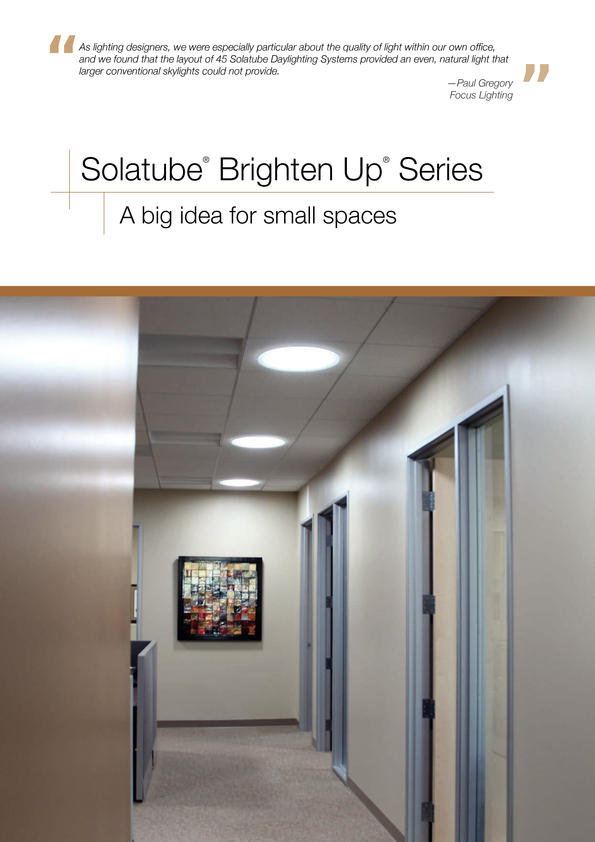 Browse Brochure: Brighten Up Series