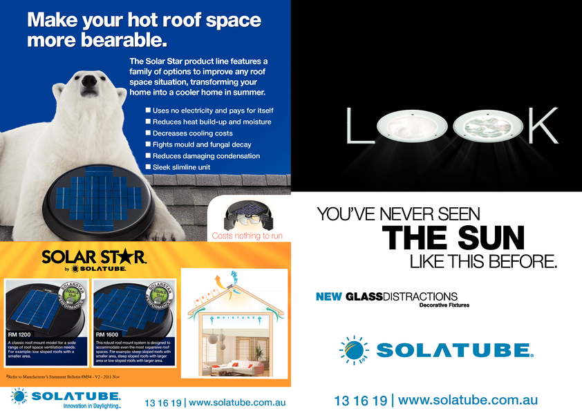 View Brochure: Solatube, Innovation in Daylighting